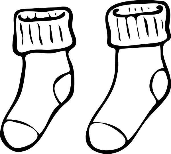 Free clipart socks. Download best on clipartmag