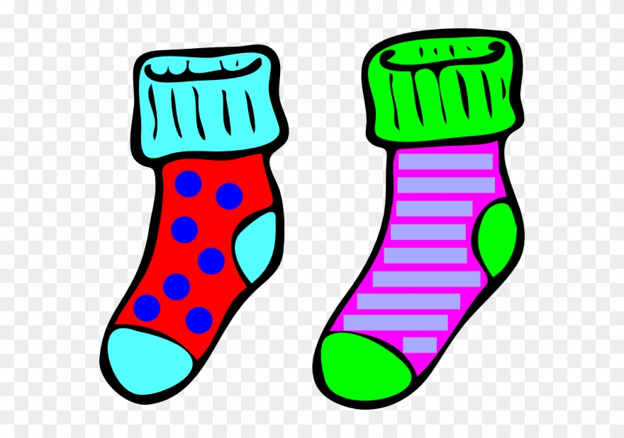 Sock clipart picture transparent Socks Clip Art At - Sock Clipart - Png Download (#113472) - PinClipart picture transparent