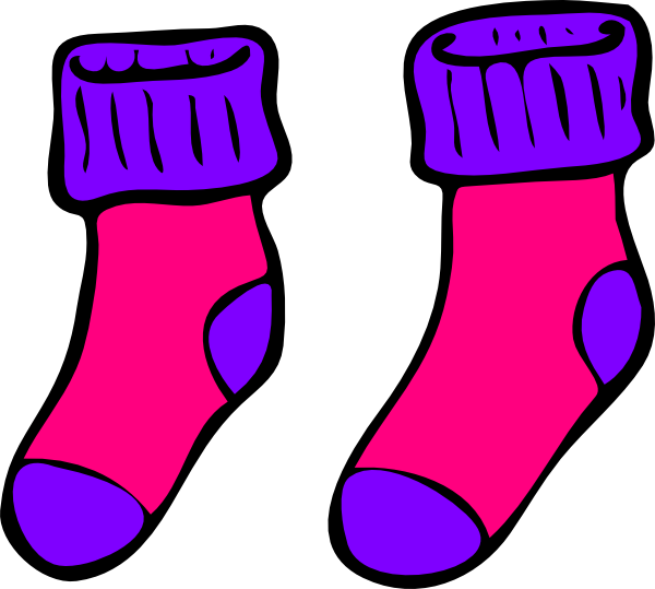 Sock clipart vector transparent download Free Socks Cartoon Cliparts, Download Free Clip Art, Free Clip Art ... vector transparent download