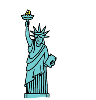 Kid sleeping on statue of liberty clipart svg library download Statue Of Liberty Clipart | Free download best Statue Of Liberty ... svg library download