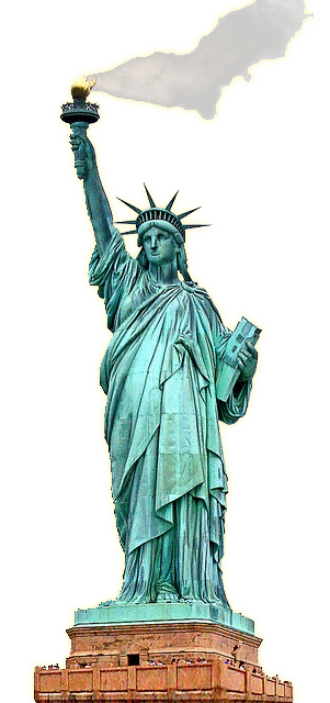 Statue liberty clipart picture library Statue of Liberty clipart burning torch #48673 - Free Icons and PNG ... picture library