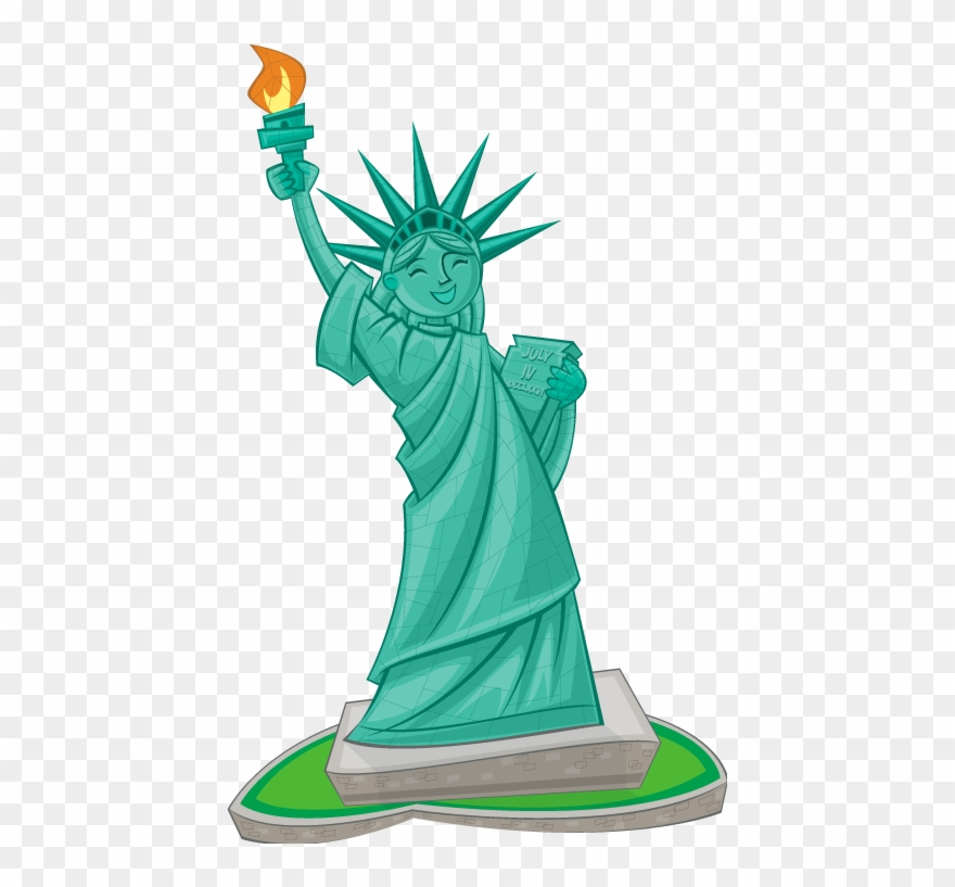 Statue of liberty clipart transparent download Lady Liberty Clip Art - Png Download (#1866706) - PinClipart transparent download