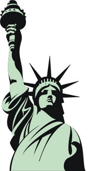 Statue of liberty clipart free black and white download Free Liberty Cliparts, Download Free Clip Art, Free Clip Art on ... black and white download