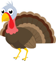 Spread clipart png library stock Free Turkey Clipart - Clip Art Pictures - Graphics - Illustrations png library stock