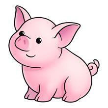 Piggy Clipart & Piggy Clip Art Images - ClipartALL.com banner royalty free