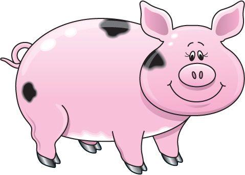 pig clipart - Google zoeken | Varkensplaatjes | Pinterest | Pigs ... clipart free library