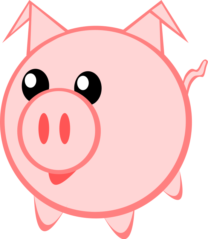 Piggy clip art - ClipartFest jpg free library