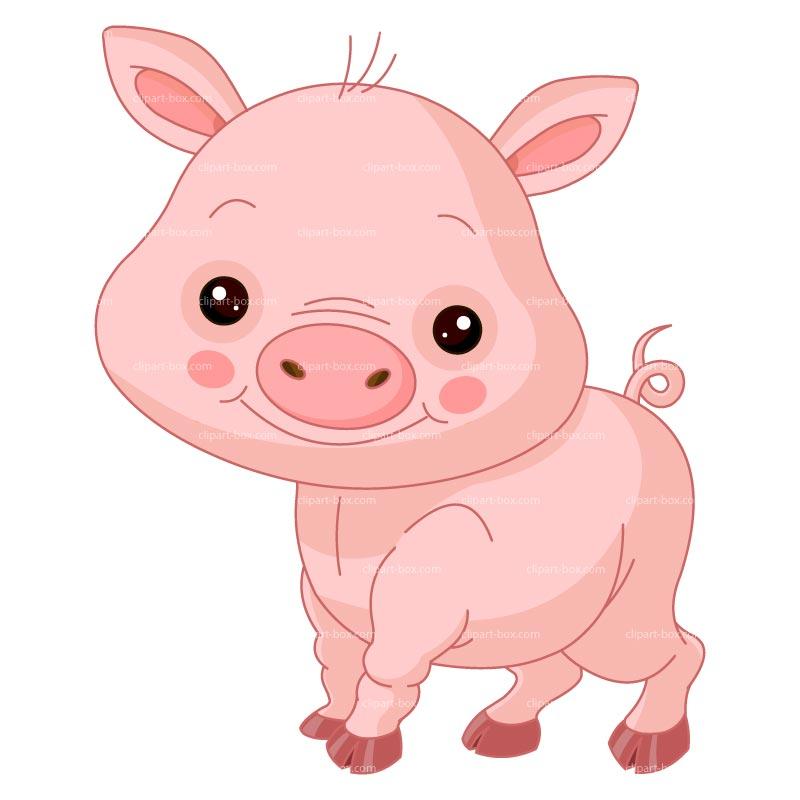 Clip Art Cute Piggy Clipart - Clipart Kid clip library