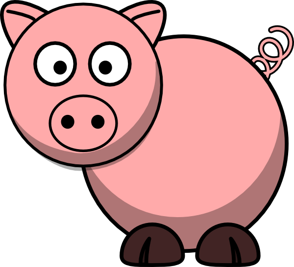 Clipart piggy graphic black and white download Piggy Clipart - Cliparts and Others Art Inspiration graphic black and white download