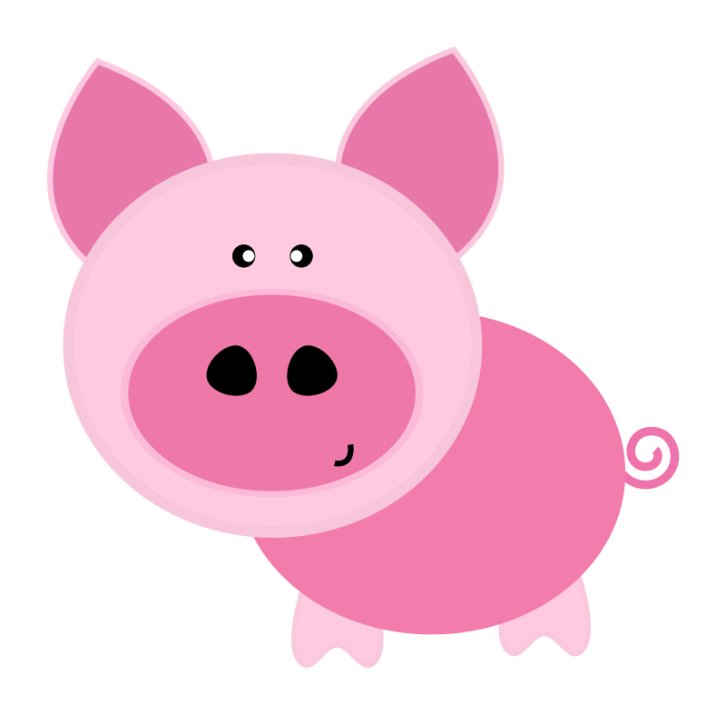 Piggy Clipart - The Cliparts clipart free library