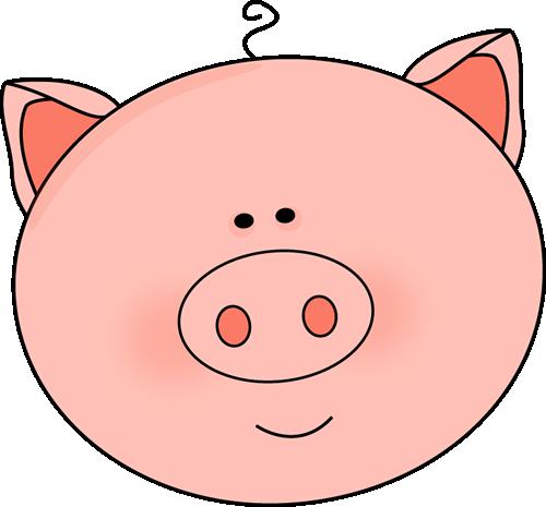Clip Art Cute Piggy Clipart - Clipart Kid vector free download