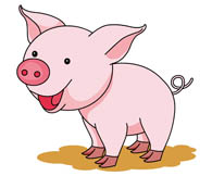 Clipart piggy image library download Free Pig Clipart - Clip Art Pictures - Graphics - Illustrations image library download