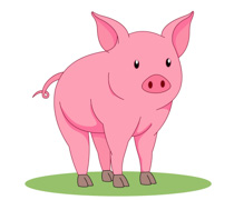 Free Pig Clipart - Clip Art Pictures - Graphics - Illustrations clip art freeuse stock