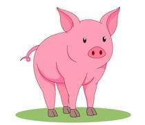 Clipart piggy clip art freeuse stock Free Pig Clipart - Clip Art Pictures - Graphics - Illustrations clip art freeuse stock