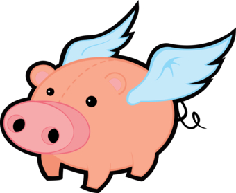 Flying pig clipart jpg library download Free Flying Pig Cliparts, Download Free Clip Art, Free Clip Art on ... jpg library download