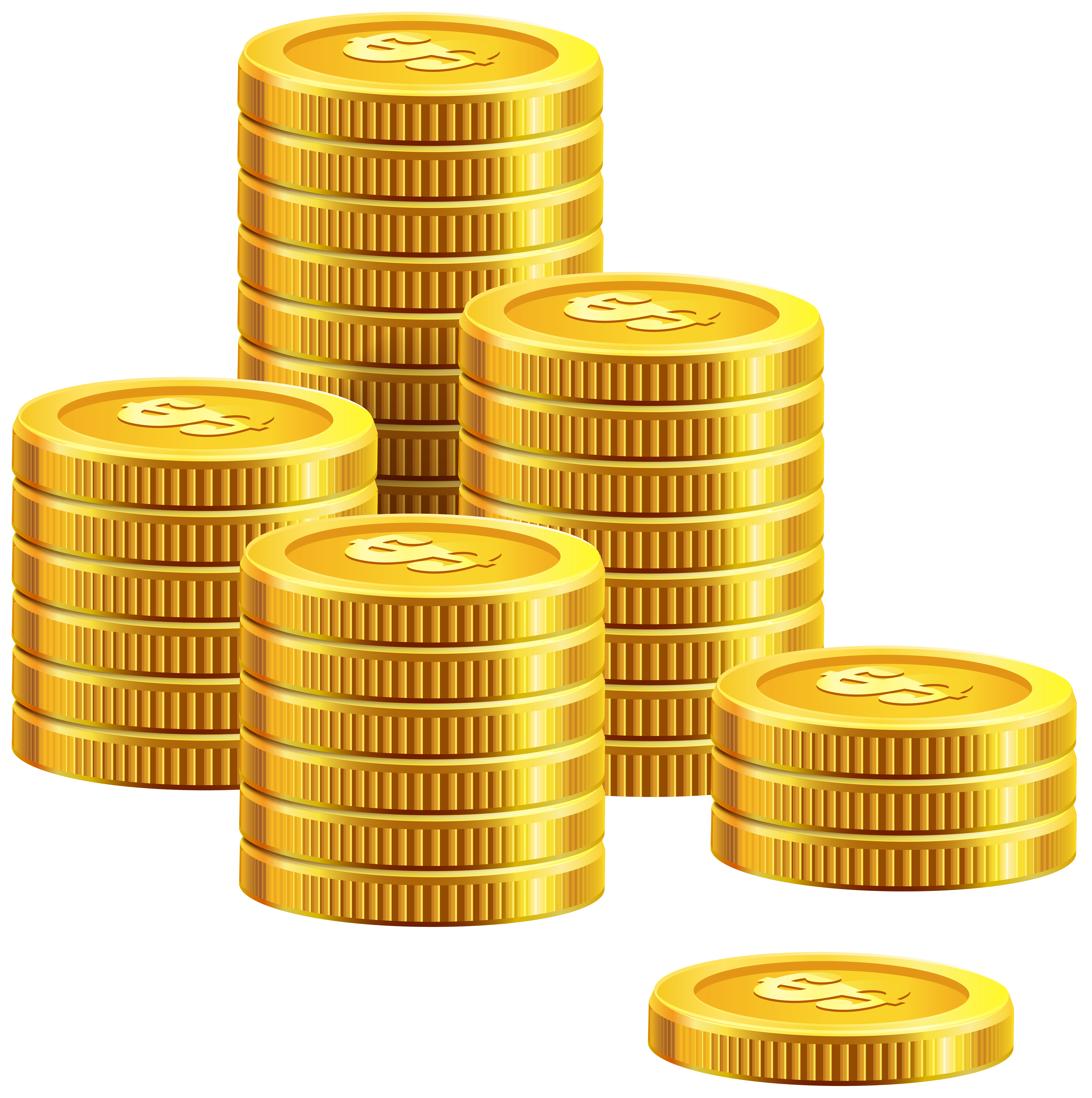 Real stack of money clipart freeuse download Pile of Coins PNG Clip Art - Best WEB Clipart freeuse download