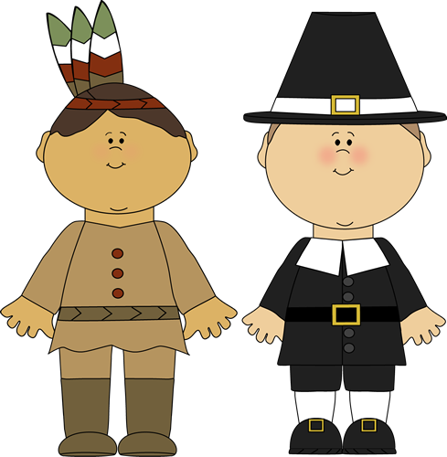 Pilgrim clothing clipart