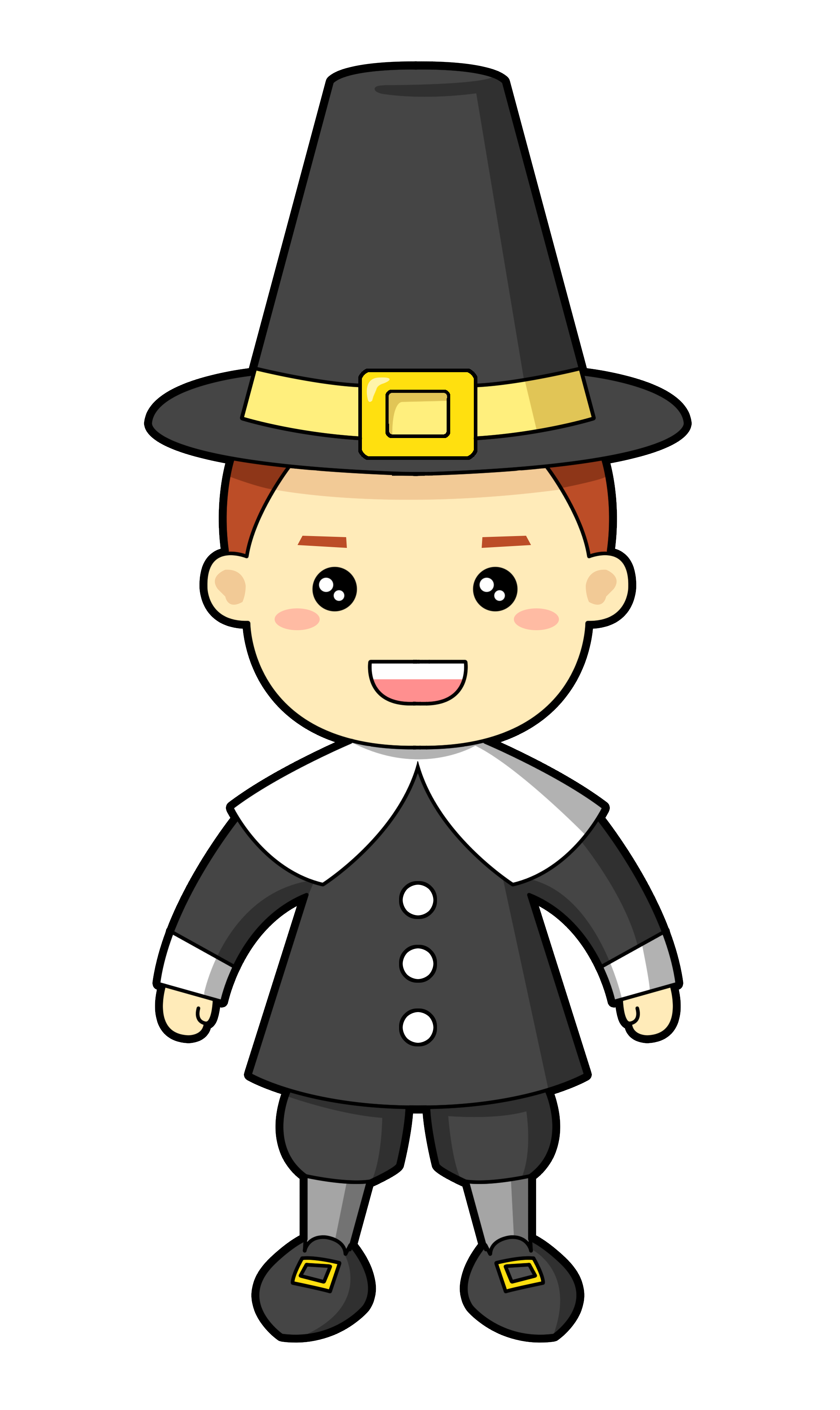 Pilgrim cartoon clipart picture black and white library Pilgrim free to use cliparts - Cliparting.com picture black and white library
