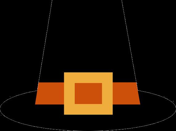 Clipart pilgrim hat graphic royalty free Pilgrim Hat Free Thanksgiving Cliparts Clip Art Transparent Png - AZPng graphic royalty free