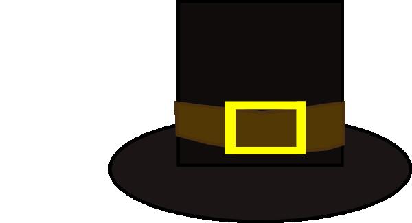 Pilgrims hat clipart jpg royalty free Pilgrim Hat Clip Art at Clker.com - vector clip art online, royalty ... jpg royalty free