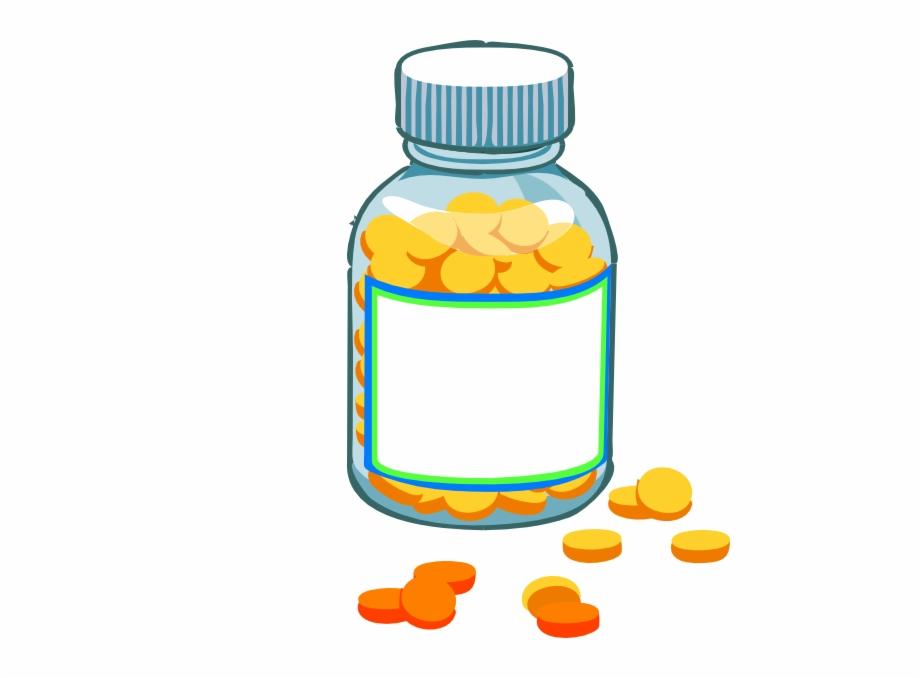 Medicine tablet clipart banner royalty free download Clipart Pills Blank Pill Bottle Clip Art Graduation - Medicine ... banner royalty free download