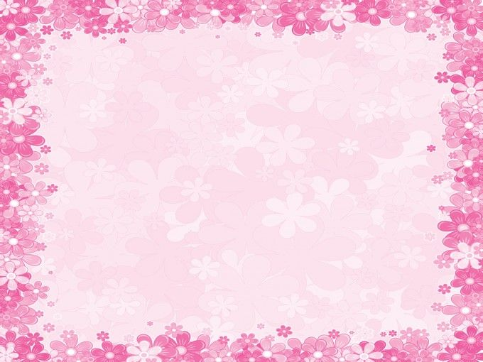 Clipart pink background royalty free stock Pink and Yellow Background | floral design PPT Backgrounds ... royalty free stock