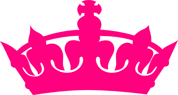 Clipart pink crown
