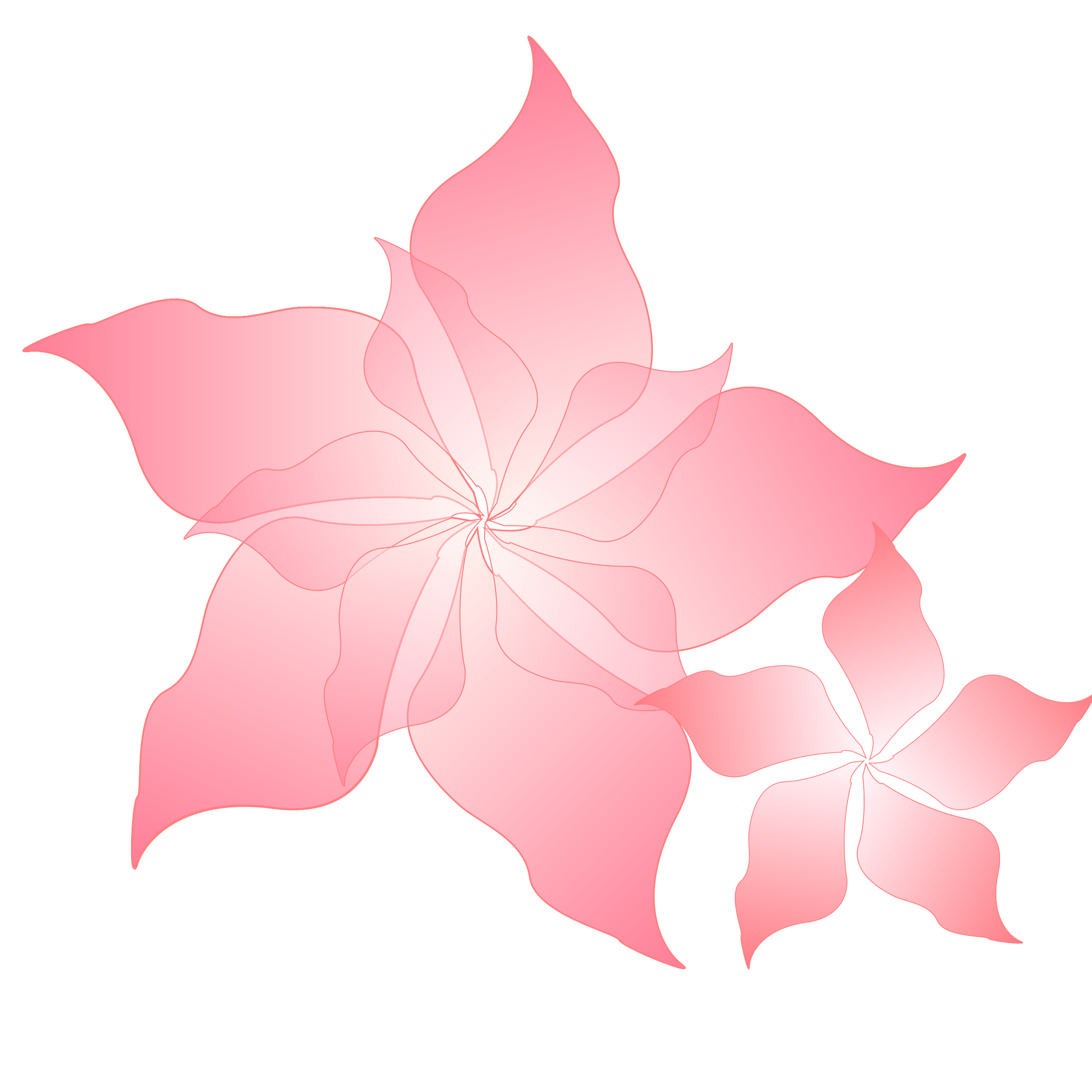 Clipart - pink flower picture transparent download