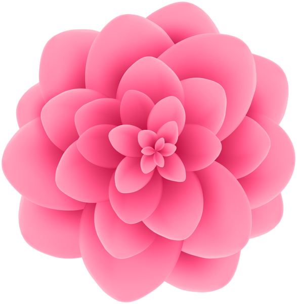 Deco Pink Flower Transparent Clip Art Image | Gallery Yopriceville ... graphic download
