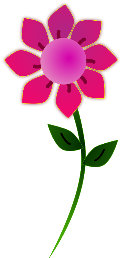 Pink Flower Border Clip Art | Clipart Panda - Free Clipart Images graphic freeuse library