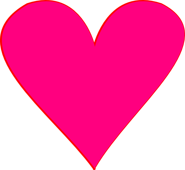 Pink heart clipart svg royalty free library Pink Heart Clipart | Clipart Panda - Free Clipart Images svg royalty free library