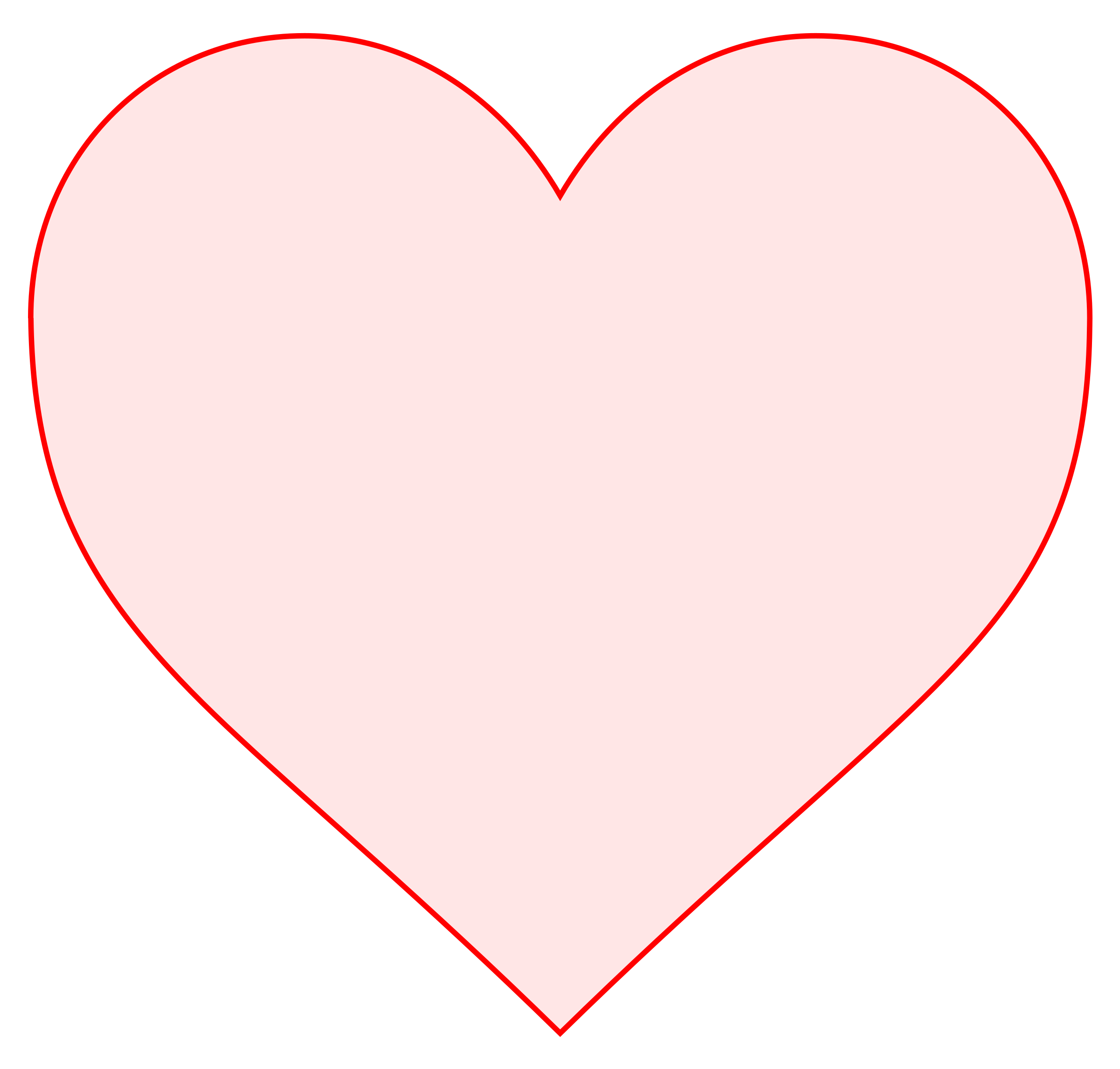 Pink heart outline clipart image transparent download Clipart - pink heart image transparent download