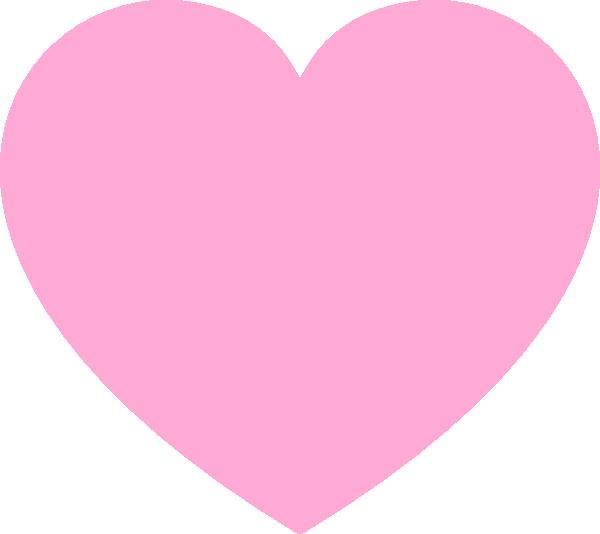 Clipart pink heart svg Pink Heart Clip Art at Clker.com - vector clip art online, royalty ... svg