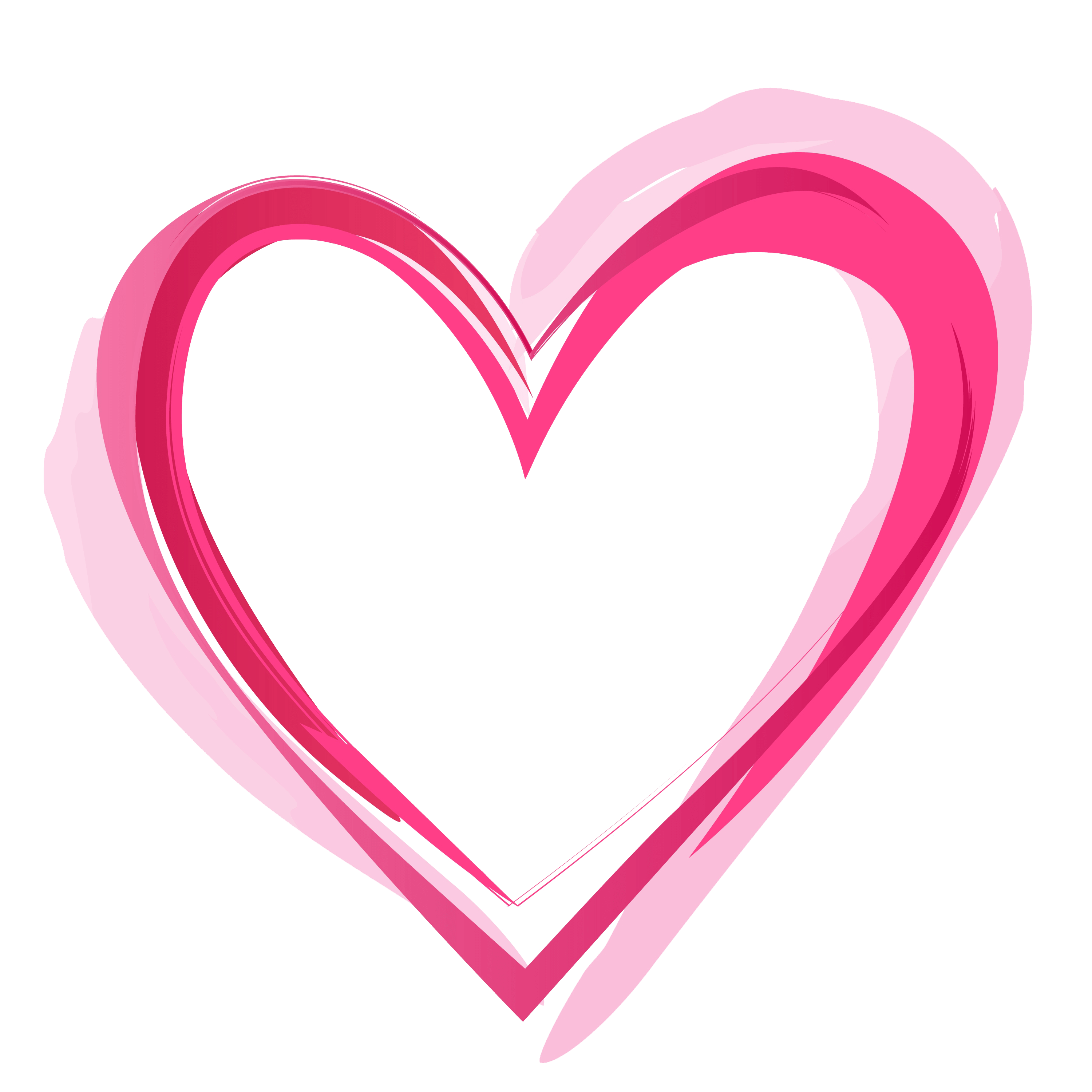 Clipart pink heart image free library Pink Heart PNG Pic image free library