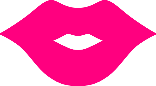 Clipart pink lips png library Pink Lips Clip Art at Clker.com - vector clip art online, royalty ... png library