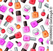 Fingernail polish clipart clipart Nail Polish Clip Art - Royalty Free - GoGraph clipart