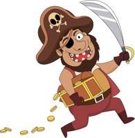 Pirate clipart pictures png Free Pirates Clipart - Clip Art Pictures - Graphics - Illustrations png