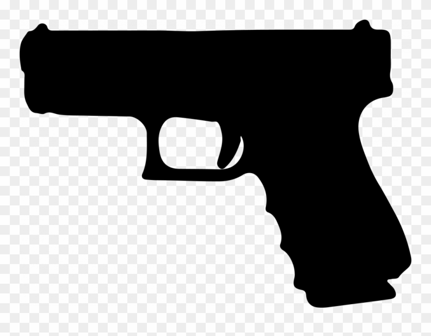 Clipart pistol banner black and white download Graphic Royalty Free Library Pistol Clipart Glock Free - Glock 19 ... banner black and white download