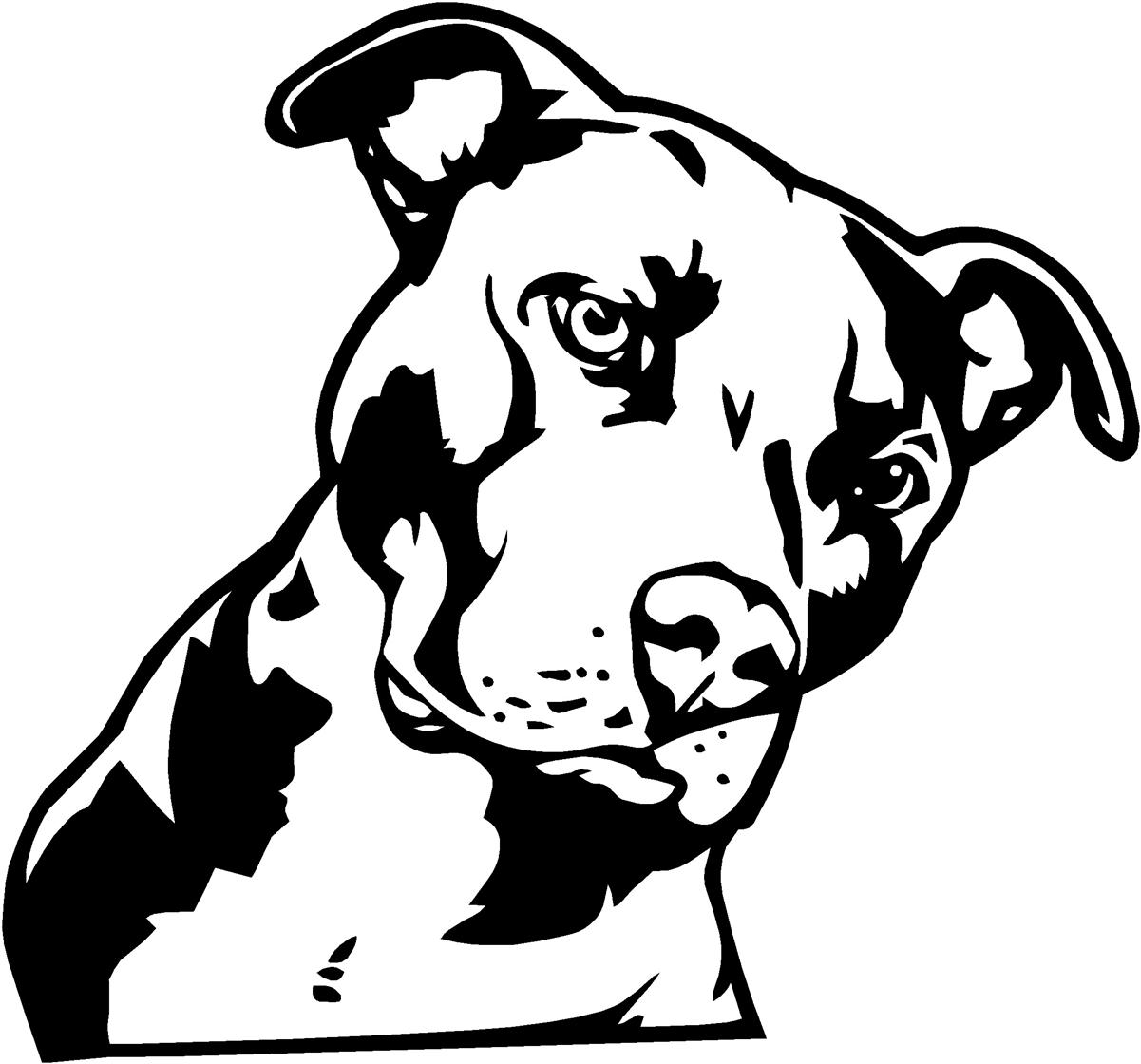 Clipart pitbull banner black and white stock 28+ Pit Bull Clipart | ClipartLook banner black and white stock