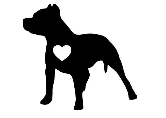 Clipart pitbull image library library Pit Bull Clipart Cliparts Co | Craft Ideas | Silhouette tattoos ... image library library