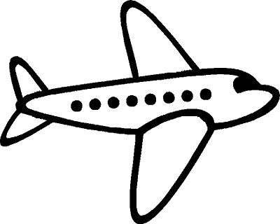 Clipart plane clipart black and white library Clip Art Plane & Clip Art Plane Clip Art Images - ClipartALL.com clipart black and white library