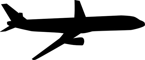 Clipart plane clip black and white library Airplane Clipart Black And White | Clipart Panda - Free Clipart Images clip black and white library