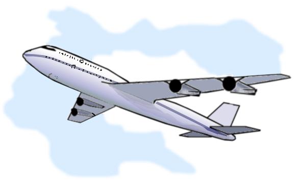 Clipart plane landing vector download Clipart plane png - ClipartFest vector download