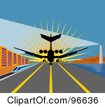 Clipart plane landing graphic free library Royalty-Free (RF) Landing Clipart, Illustrations, Vector Graphics #1 graphic free library