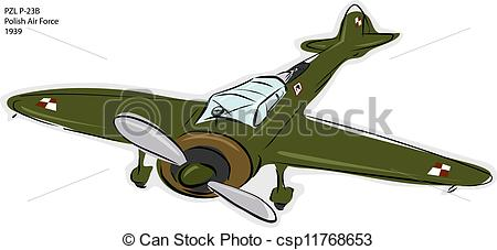 Clipart plane stock free banner black and white stock Wwii Plane Clipart - Clipart Kid banner black and white stock