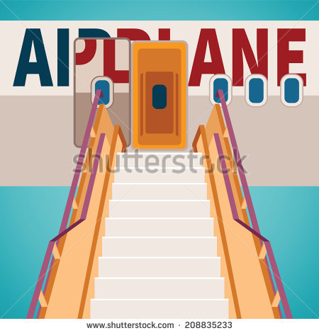 Clipart plane with staircase picture freeuse library Stair Landing Stock Images, Royalty-Free Images & Vectors ... picture freeuse library