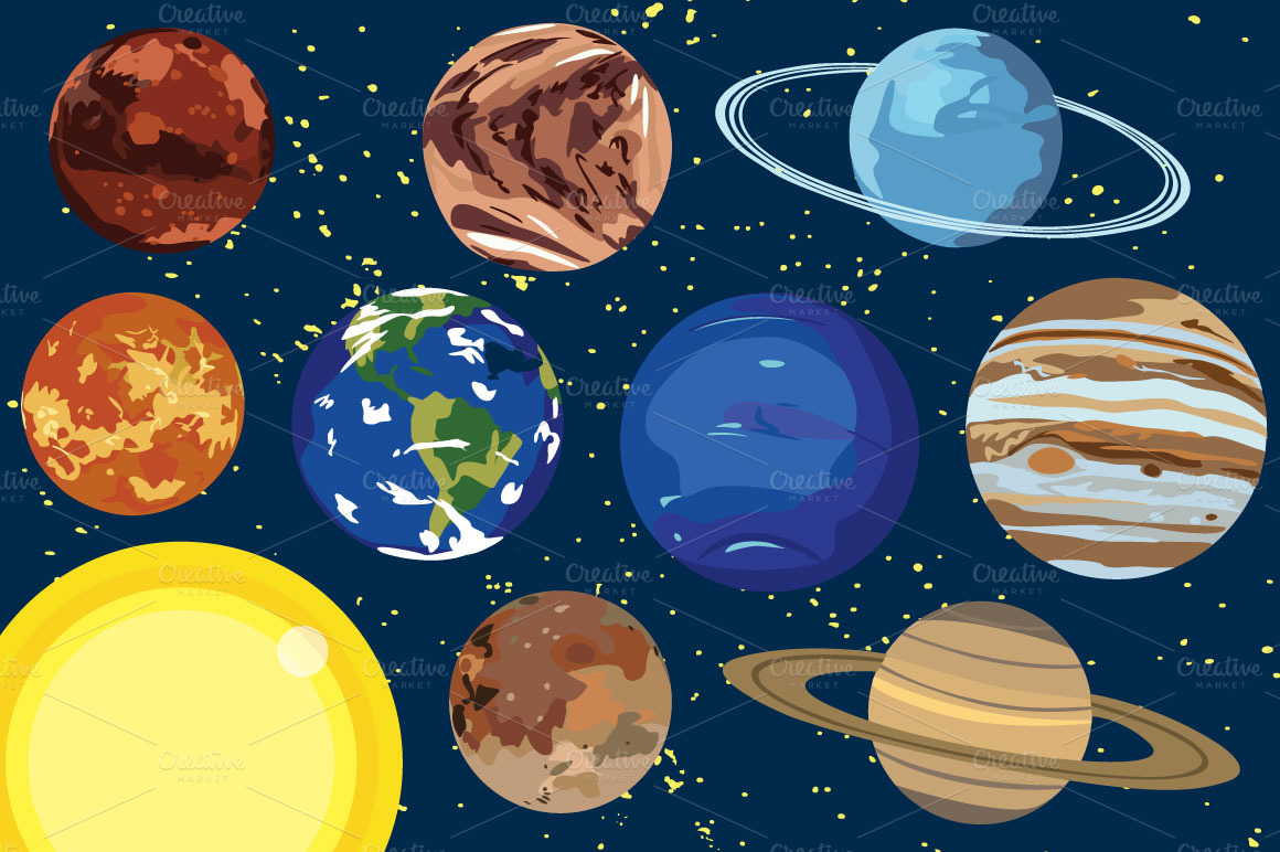 Plnets clipart clip freeuse Free The Planets Cliparts, Download Free Clip Art, Free Clip Art on ... clip freeuse