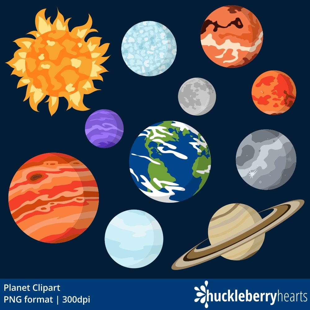 Plnets clipart banner library library Planet Clipart banner library library