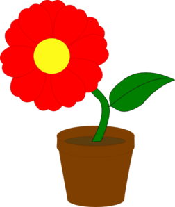 Clipart plants and flowers jpg Flower Potted Plant Clipart - Clipart Kid jpg