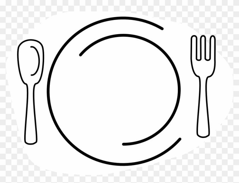 Clipart plate knife fork vector transparent stock Placa Restaurante Png - Plate With Knife And Fork Clip Art ... vector transparent stock